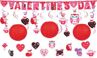 Woodland Friends Valentine's Day Decorating Kit