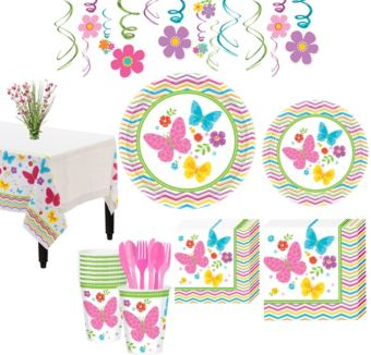 Celebrate Spring Tableware Kit for 18 Guests