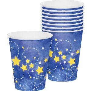 Moon & Stars Cups 8ct