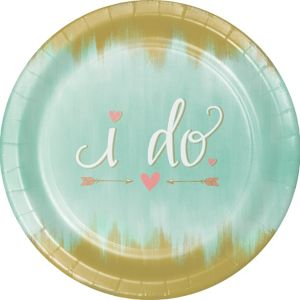 Mint to Be Dinner Plates 8ct