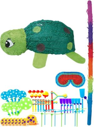 Turtle Pinata Kit with Favors