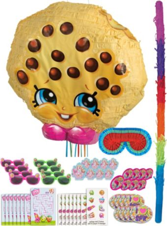 Kooky Cookie Pinata Kit with Favors - Shopkins