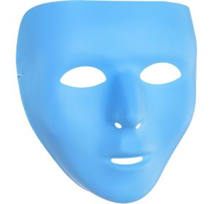 Light Blue Face Mask