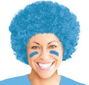 Light Blue Afro Wig
