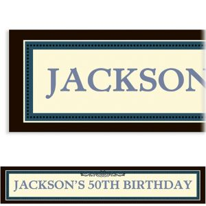 Custom Vintage Banner