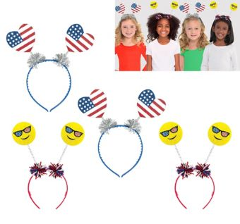 Patriotic Head Boppers 4ct