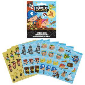 Pirate Sticker Book 9 Sheets