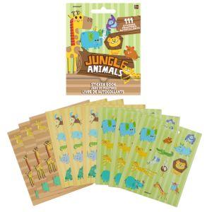 Jungle Animals Sticker Book 9 Sheets
