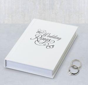 Ring Bearer Book BoxBOX