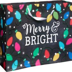 Large Twinkle Lights Gift Bag