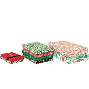 Assorted Christmas Gift Boxes 8ct