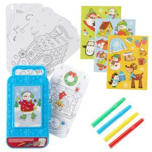 Snowman Sticker Activity Box