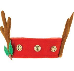 Jingle Bell Reindeer Headband