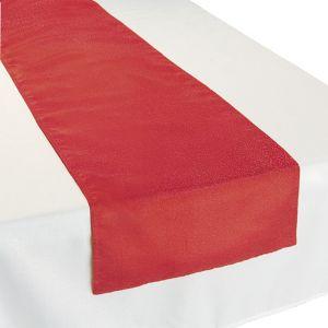 Metallic Red Table Runner