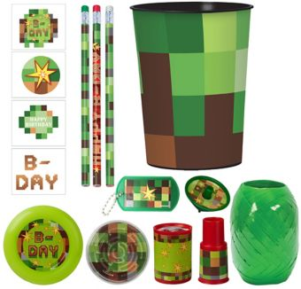 Pixelated Super Favor Kit for 8 Guests