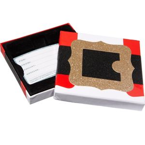 Santa's Belt Buckle Gift Card Holder Box