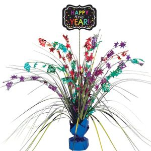 Colorful New Year's Spray Centerpiece