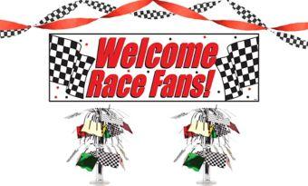 Car Racing Decorating Kit