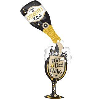 Champagne Pop Fizz Clink Balloon