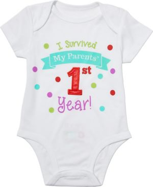Baby Surviving Parents' 1st Year Bodysuit