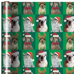 Cats & Dogs Christmas Gift Wrap