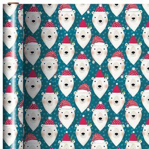 Polar Bear Christmas Gift Wrap