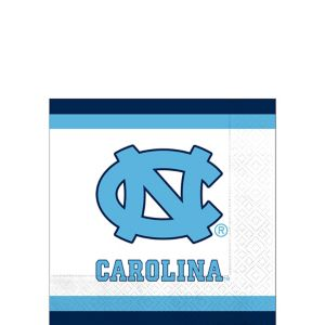 North Carolina Tar Heels Beverage Napkins 24ct
