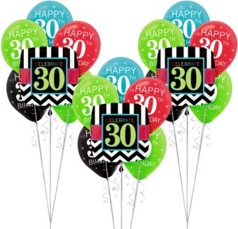 Celebrate 30 Birthday Balloon Kit