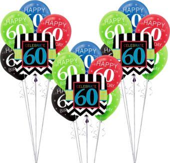 Celebrate 60 Birthday Balloon Kit