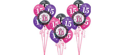 Mis Quince Quinceanera Balloon Kit