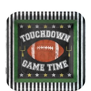 Football Game Time Dessert Plates 18ct