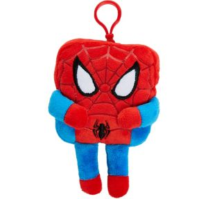 Clip-On Square Spider-Man Plush