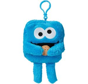 Clip-On Square Cookie Monster Plush - Sesame Street