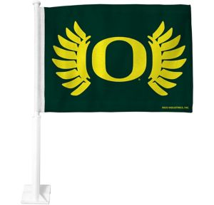 Oregon Ducks Car Flag
