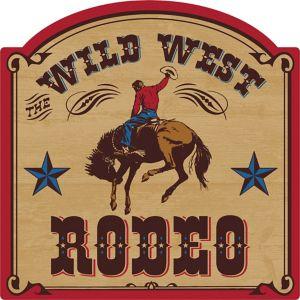 Yeehaw Western Wild West Rodeo Cutout