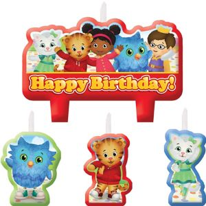 Daniel Tiger's Neighborhood Birthday Candles 4ct