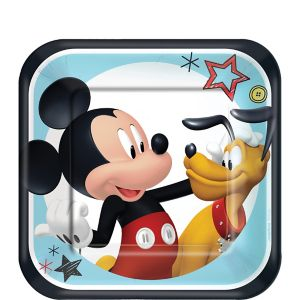 Mickey Mouse Dessert Plates 8ct