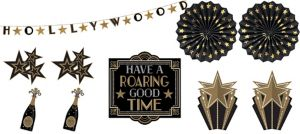 Hollywood Room Decorating Kit 10pc
