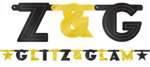 Glitz & Glam Hollywood Letter Banner