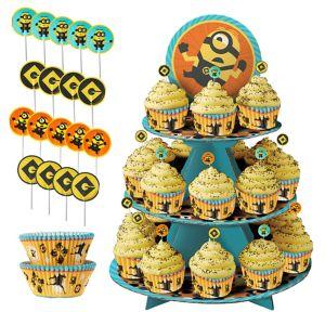 Minion Cupcake Kit for 24
