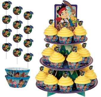 Jake and the Neverland Pirates Cupcake Kit for 24