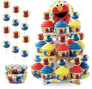 Sesame Street Cupcake Kit for 24