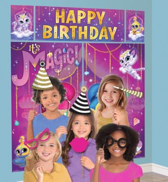 Shimmer and Shine Photo Booth Kit with Props