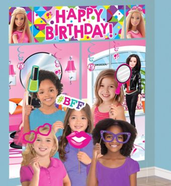 Barbie Photo Booth Kit with Props