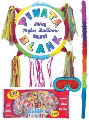 Add-a-Balloon Multicolor Pinata Kit