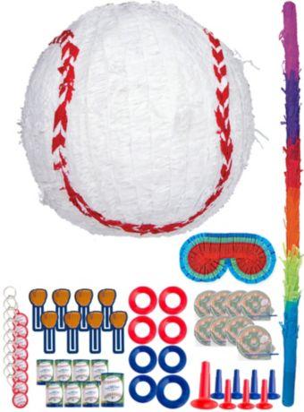 Baseball Pinata Kit with Favors