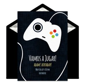 Online Game Controller Invitations