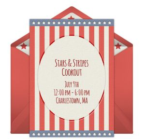 Online Patriotic Invitations