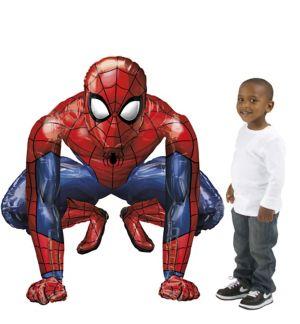 Giant Gliding Spider-Man Webbed Wonder Balloon