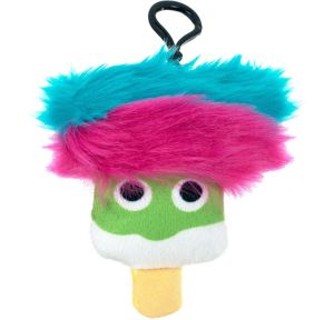 Clip-On Green Ice Pop Plush